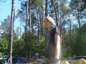 Женя Бельченко провела майстер-клас